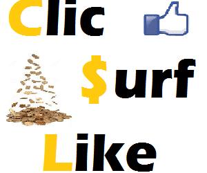 Gagner de l'argent avec du clic, surf, like