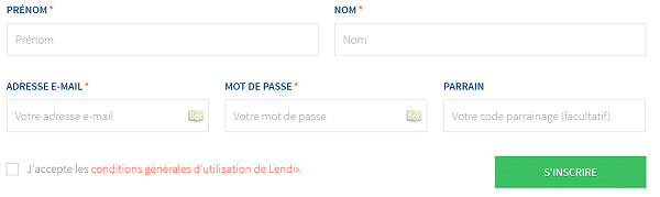 inscription crowdfunding lendix