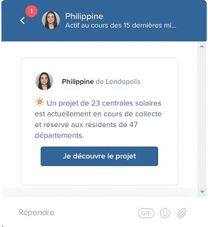 Chat Live Lendopolis