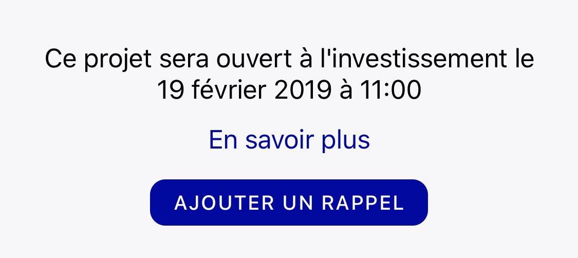 October Rappel de projet