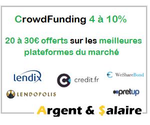 Tops des offres de parrainage Crowdfunding