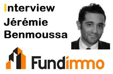 Interview Jérémie Benmoussa – Co-fondateur & CEO FUNDIMMO