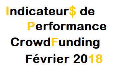 Indicateurs de Performance CrowdFunding Février 2018