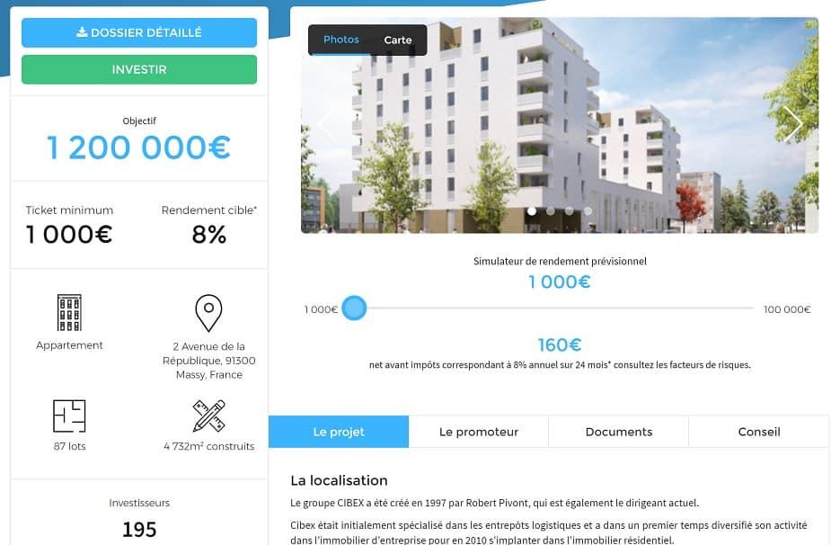 Homunity Fiche Projet Financement Immobilier