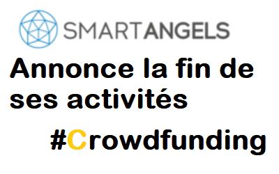 SmartAngels annonce l'arrêt de ses activités de Crowdfunding