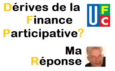 UFC et la Finance Participative : Ma réponse