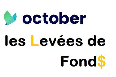 Les levées de fonds d'OCTOBER