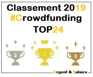 Classement Meilleures plateformes CrowdFunding 2019