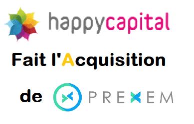 HAPPY CAPITAL fait l'acquisition de PREXEM