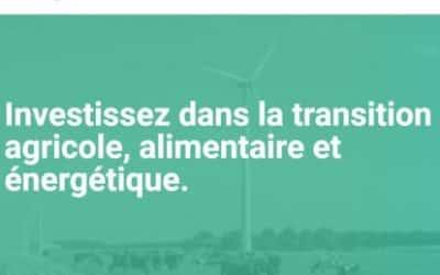 Avis Miimosa – Investir dans la transition agricole, alimentaire et énergétique