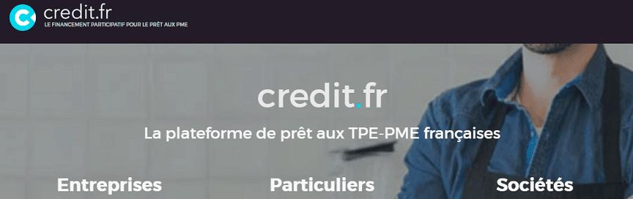 Credit.fr plateforme de financement participatif