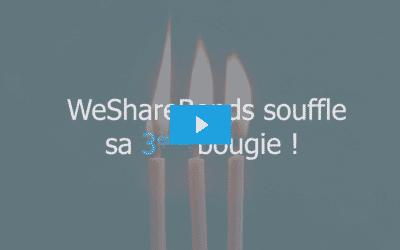 WeShareBonds : 3 ans, 20M€, 50 PME.