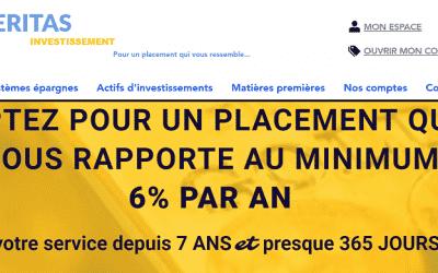Le livret à 6% Euro gold de veritas-investissement.com est t'il une arnaque?