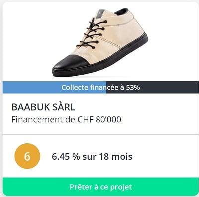 Neocredit projet crowdfunding