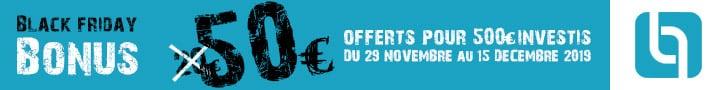 Bonus 50€ pour 500€ prêtés sur Les Entreprêteurs