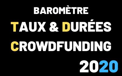 Taux et durée CrowdFunding 2020