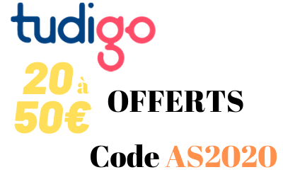 Offre parrainage TUDIGO - Code Bonus 20 à 50€