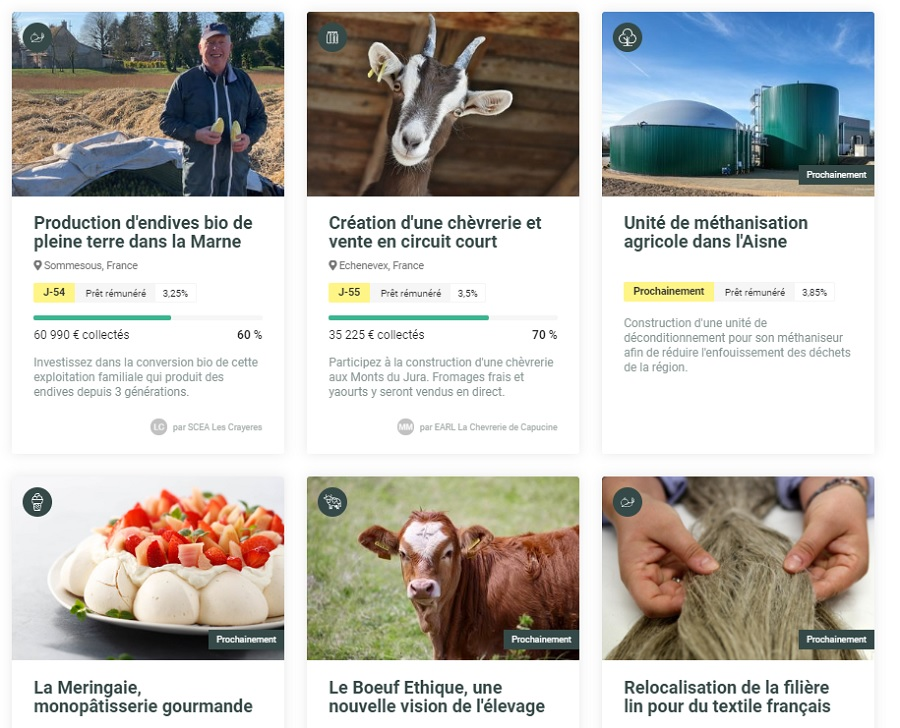 Avis Miimosa projets de transition agricole, alimentaire et énergétique