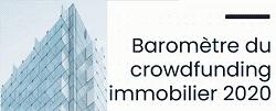 Baromètre CrowdFunding immobilier 2020  : +35% ! Tous les détails