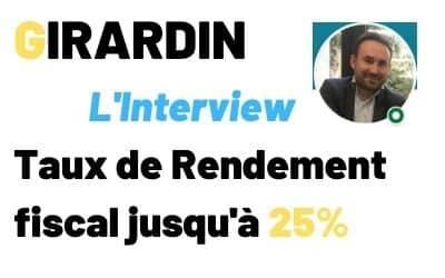 Girardin Participatif : Taux de rendement fiscal de 25% jusqu'au 31 mars