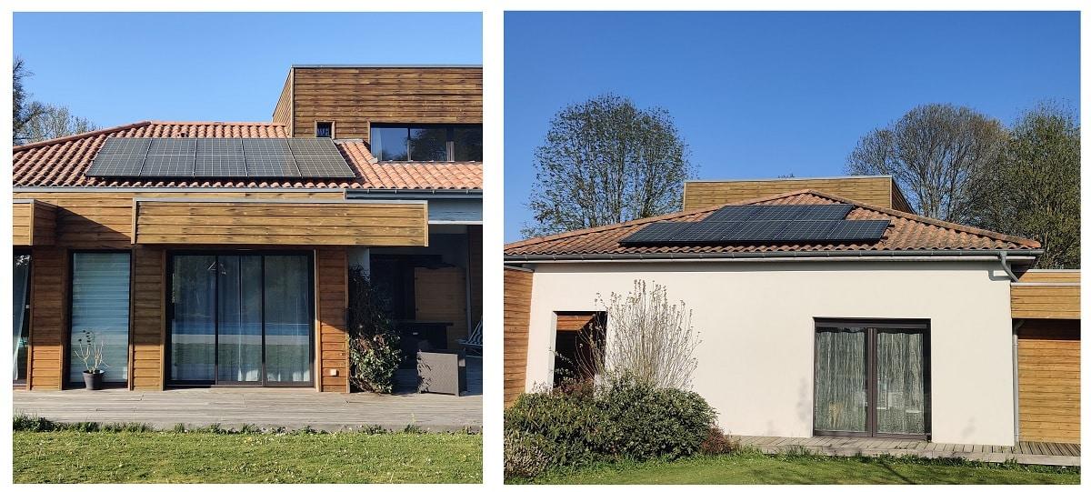 Installation solaire LG NEON par Niroma Solar